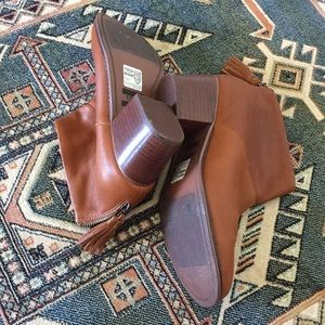 87f9abec60c Toms Shoes - TOMS Leila Warm Tan Ankle Booties